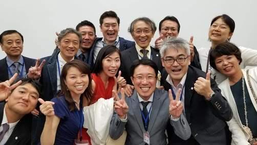 理事・評議員の先生方との写真