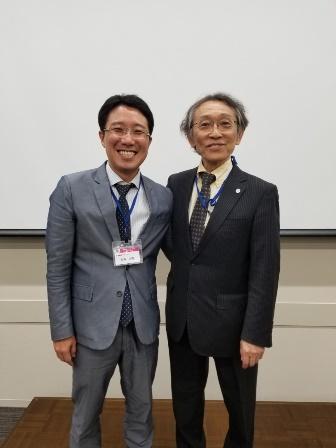 生田先生との2ショット