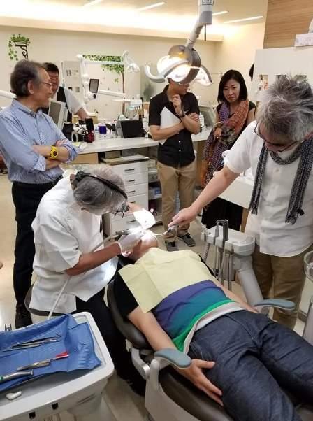 理事の松本先生による咬合調整セミナー