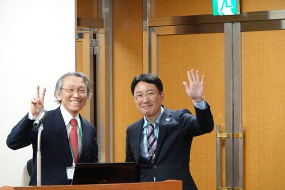 生田先生と2ショット